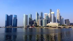 シンガポール中心地