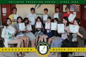 フィリピン留学 Graduates 03-27-15.sJPG