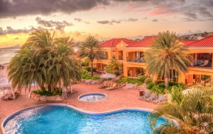 カリブ海リゾートホテル