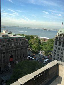 Manhattan Language教室からの眺め