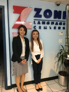 Zoni日本人担当スタッフ・Jasmine(韓国人)